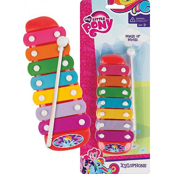 Ксилофон EstaBella My Little PonyКсилофоны<br>Характеристики товара:<br><br>• возраст: от 3 лет<br>• материал: пластик.<br>• размер упаковки: 11х28х5 см.<br>• упаковка:  блистер на картоне.<br>• страна обладатель бренда: Китай.<br><br>Музыкальная игрушка «Ксилофон» Май Литл Пони - это детский игрушечный музыкальный инструмент, который будет способствовать развитию слухового восприятия и раскрытию творческого потенциала.<br> <br>Ксилофон представляет собой панель, состоящую из семи пластин, каждой из которых соответствует определенная музыкальная нота. Игрушка будет знакомить малыша с миром музыки.<br><br>Музыкальную игрушку «Ксилофон» EstaBella можно купить в нашем интернет-магазине.<br><br>Ширина мм: 110<br>Глубина мм: 280<br>Высота мм: 50<br>Вес г: 4<br>Возраст от месяцев: 36<br>Возраст до месяцев: 2147483647<br>Пол: Женский<br>Возраст: Детский<br>SKU: 7198957