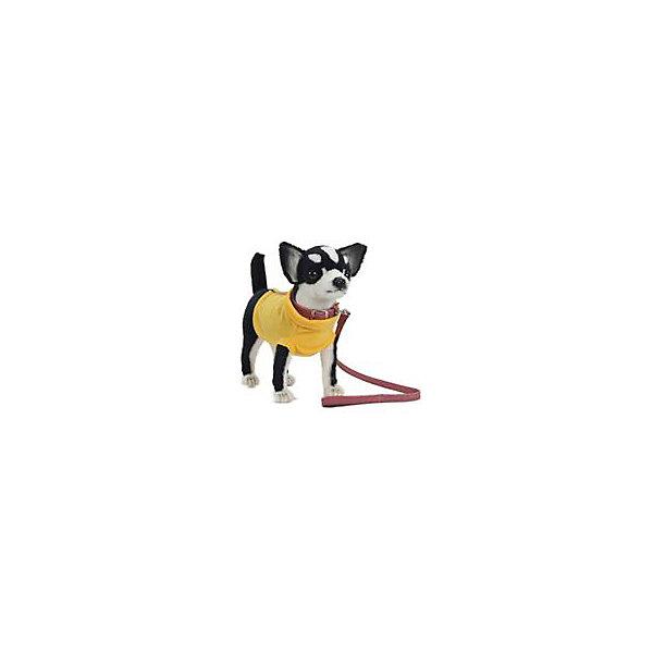 Мягкая игрушка Hansa Чихуахуа черная, 27 смМягкие игрушки животные<br>Характеристики товара:<br><br>• возраст: от 3 лет;<br>• материал: искусственный мех;<br>• размер игрушки: 27 см;<br>• размер упаковки: 27х24х11 см;<br>• вес упаковки: 1,2 кг;<br>• страна производитель: Филиппины.<br><br>Мягкая игрушка «Чихуахуа черная» Hansa станет для ребенка настоящим плюшевым другом. У собачки мягкая шерстка, добрые глазки, маленькие ушки торчком. Игрушка выполнена из качественного искусственного меха, безопасного для детей. Мех настолько мягкий и приятный, что игрушку можно брать с собой в кроватку и спать в обнимку.<br><br>Игрушки Hansa точно повторяют настоящее животное, изготовлены из искусственного меха, шьются и набиваются вручную.<br><br>Мягкую игрушку «Чихуахуа черная» Hansa можно приобрести в нашем интернет-магазине.<br><br>Ширина мм: 240<br>Глубина мм: 270<br>Высота мм: 110<br>Вес г: 1200<br>Возраст от месяцев: 36<br>Возраст до месяцев: 2147483647<br>Пол: Унисекс<br>Возраст: Детский<br>SKU: 7199062