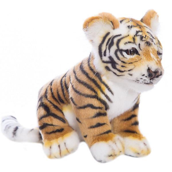 Мягкая игрушка Hansa Детеныш амурского тигра, 26 смМягкие игрушки животные<br>Характеристики товара:<br><br>• возраст: от 3 лет;<br>• материал: искусственный мех;<br>• размер игрушки: 26 см;<br>• размер упаковки: 26х17х12 см;<br>• вес упаковки: 125 гр.;<br>• страна производитель: Филиппины.<br><br>Мягкая игрушка «Детеныш Амурского тигра» Hansa станет для ребенка настоящим плюшевым другом. У тигренка мягкая полосатая шерстка, мягкие лапки, длинный хвостик и добрые глазки. Игрушка выполнена из качественного искусственного меха, безопасного для детей. Мех настолько мягкий и приятный, что игрушку можно брать с собой в кроватку и спать в обнимку.<br><br>Игрушки Hansa точно повторяют настоящее животное, изготовлены из искусственного меха, шьются и набиваются вручную.<br><br>Мягкую игрушку «Детеныш Амурского тигра» Hansa можно приобрести в нашем интернет-магазине.<br><br>Ширина мм: 170<br>Глубина мм: 260<br>Высота мм: 120<br>Вес г: 125<br>Возраст от месяцев: 36<br>Возраст до месяцев: 2147483647<br>Пол: Унисекс<br>Возраст: Детский<br>SKU: 7199069