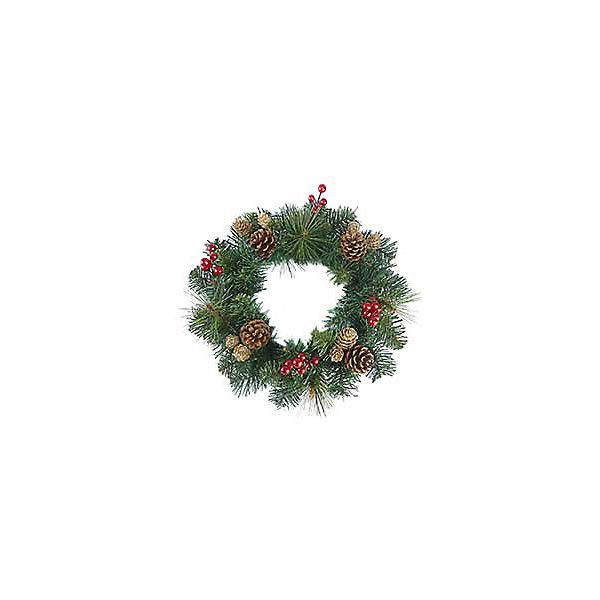 Новогодний венок Magic Land, 30 см (с шишками)Новогодние венки<br>Характеристики товара:<br><br>материал: металл, пластик;<br>размер : 30 см;<br>упаковка: п/э пакет+стикер;<br>не рекомендуется детям младше 3 лет.<br><br>Венок Новогодний Magic Land украсит интерьер во время зимних праздников. Его можно повесить на дверь, стену или окно. <br><br>Венок выглядит как натуральный благодаря добавлениюнатуральных шишек и искусственных ягод. <br><br>Венок Новогодний 30 см можно купить в нашем интернет-магазине.<br>Ширина мм: 305; Глубина мм: 300; Высота мм: 92; Вес г: 258; Возраст от месяцев: 36; Возраст до месяцев: 2147483647; Пол: Унисекс; Возраст: Детский; SKU: 7199815;