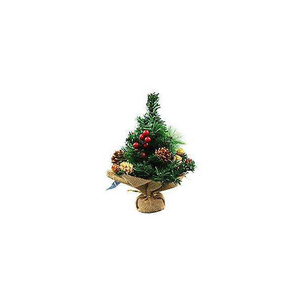 Новогодняя елка Magic Land, 30 см (декорированная)Искусственные ёлки<br>Характеристики товара:<br><br>материал: металл, пластик, ПВХ;<br>размер :30 см;<br>упаковка: п/э пакет+стикер;<br>не рекомендуется детям младше 3 лет.<br><br>Небольшая елочка Magic Land украсит интерьер во время зимних праздников. Она украшена шарами одного тона.  <br><br>Елку с шариками 30 см можно купить в нашем интернет-магазине.<br>Ширина мм: 300; Глубина мм: 110; Высота мм: 160; Вес г: 366; Возраст от месяцев: 36; Возраст до месяцев: 2147483647; Пол: Унисекс; Возраст: Детский; SKU: 7199824;