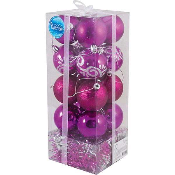 Набор шаров Magic Land 16 шт, 6 смНовинки Новый Год<br>Характеристики:<br><br>• возраст: от 3 лет;<br>• материал: пластик; <br>• цвет в ассортименте;<br>• размер: 12х12х30 см;<br>• вес: 280 гр;<br>• тип упаковки: ПВХ бокс;<br>• количество игрушек в наборе: 16 шаров;<br>•страна производитель: Китай.<br><br>Яркий набор новогодних игрушек от производителя «Magic Land» станет незаменимым помощником во время украшения елки к Новому году. <br><br>Набор новогодних подвесных шаров можно купить в нашем интернет-магазине.<br><br>Ширина мм: 115<br>Глубина мм: 119<br>Высота мм: 292<br>Вес г: 273<br>Возраст от месяцев: 36<br>Возраст до месяцев: 2147483647<br>Пол: Унисекс<br>Возраст: Детский<br>SKU: 7199841