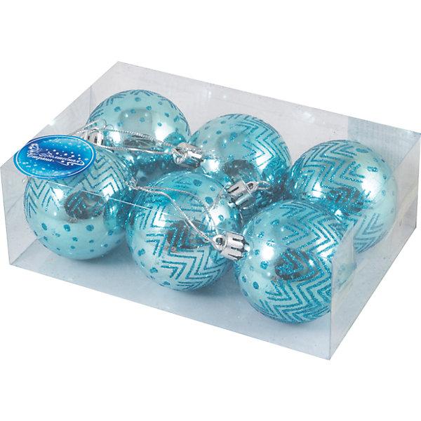 Набор шаров Magic Land 6 шт, 6 смНовинки Новый Год<br>Характеристики:<br><br>• возраст: от 3 лет;<br>• материал: пластик; <br>• размеры шаров: 6 см;<br>• тип упаковки: ПВХ бокс;<br>•страна производитель: Китай.<br><br>Набор новогодних игрушек «Magic Land» выполнен из пластика, поэтому украшения прослужат долго. Благодаря своему материалу игрушки не только не бьются, но очень легкие. <br><br>Набор шаров 6шт. можно купить в нашем интернет-магазине.<br><br>Ширина мм: 175<br>Глубина мм: 116<br>Высота мм: 60<br>Вес г: 74<br>Возраст от месяцев: 36<br>Возраст до месяцев: 2147483647<br>Пол: Унисекс<br>Возраст: Детский<br>SKU: 7199844