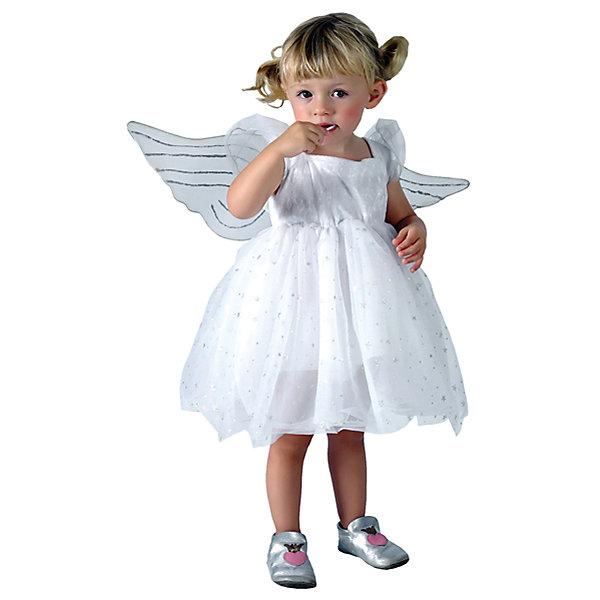 Карнавальный костюм Winter Wings АнгелочекКарнавальные костюмы для девочек<br>Характеристики товара:<br><br>• возраст: от 3 лет;<br>• упаковка: пакет с европодвесом;<br>• модель - Ангелочек;<br>• цвет - белый;<br>• размер - 3-4 года;<br>• состав - полиэстер;<br>• бренд, страна бренда: Winter Wings (Винтер Вингс), Канада;<br>• страна-производитель: Китай.<br><br>Карнавальный костюм  «Ангелочек» от торговой марки Winter Wings поможет сделать любой праздник незабываемым и волшебным, и несомненно порадует вашего малыша.<br><br>Этот красивый костюм белого цвета расшит серебрянными нитями и люрексом. Крылья ангелочка очень легкие и при желании их можно снять .<br><br>Компания  Winter Wings  - настоящий эксперт в оригинальных качественных новогодних украшениях, один из самых широких новогодних ассортиментов на российском рынке.<br><br>Карнавальный костюм  «Ангелочек»  Winter Wings  можно купить в нашем интернет-магазине.<br>Ширина мм: 400; Глубина мм: 500; Высота мм: 80; Вес г: 100; Возраст от месяцев: 36; Возраст до месяцев: 48; Пол: Унисекс; Возраст: Детский; SKU: 7220641;