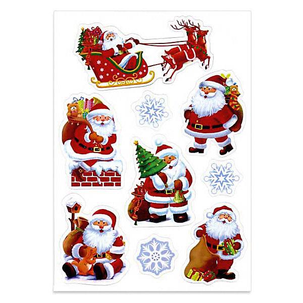 Набор новогодних магнитов Winter Wings Веселый Санта, 9 штНовогодние сувениры<br>Набор магнитов ВЕСЕЛЫЙ САНТА, 20*28,5 см, 9 штук, ПВХ<br><br>Ширина мм: 200<br>Глубина мм: 285<br>Высота мм: 5<br>Вес г: 110<br>Возраст от месяцев: 36<br>Возраст до месяцев: 2147483647<br>Пол: Унисекс<br>Возраст: Детский<br>SKU: 7220657