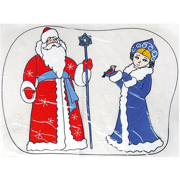Наклейка на окно Winter Wings Дед Мороз и Снегурочка 45х60 см, ПВХНовогодние наклейки на окна<br>Характеристики товара:<br><br>• возраст: от 3 лет;<br>• упаковка: пакет;<br>• количество: 1 шт.;<br>• цвет: красный/синий/белый;<br>• размеры: 45х60 см.;<br>• форма: фигурная;<br>• состав: ПВХ;<br>• бренд, страна бренда: Winter Wings (Винтер Вингс), Канада;<br>• страна-производитель: Китай.<br><br>Наклейка декоративная на стекло «ДЕД МОРОЗ И СНЕГУРОЧКА » от торговой марки Winter Wings - это большая фигурная наклейка с изображением Деда Мороза и Снегурочки, которая станет прекрасным элементом декора на стекло и создаст в вашем доме по-настоящему новогоднюю атмосферу.<br><br>Наклейка выполненна из качественного материала и ее можно быстро и легко прикрепить и открепить на стеклянную поверхность.<br><br>Компания  Winter Wings  - настоящий эксперт в оригинальных качественных новогодних украшениях, один из самых широких новогодних ассортиментов на российском рынке.<br><br>Наклейку декоративную на стекло «ДЕД МОРОЗ И СНЕГУРОЧКА » , 1 шт, 45х60 см., Winter Wings  можно купить в нашем интернет-магазине.<br>Ширина мм: 450; Глубина мм: 600; Высота мм: 2; Вес г: 2; Возраст от месяцев: 36; Возраст до месяцев: 2147483647; Пол: Унисекс; Возраст: Детский; SKU: 7220673;