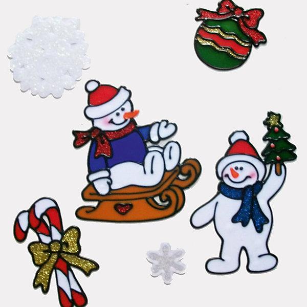 Наклейка на окно Winter Wings Снеговики 30х33 см, ПВХНовогодние наклейки на окна<br>Характеристики товара:<br><br>• возраст: от 3 лет;<br>• упаковка: пакет;<br>• количество: 6 шт.;<br>• цвет: синий/зеленый/белый;<br>• размеры: 30х33см.;<br>• форма: фигурная;<br>• состав: ПВХ;<br>• бренд, страна бренда: Winter Wings (Винтер Вингс), Канада;<br>• страна-производитель: Китай.<br><br>Наклейка декоративная на стекло «СНЕГОВИКИ» от торговой марки Winter Wings - это шесть ярких фигурных наклеек с изображением Веселых Снеговиков, снежинок, шарика и леденца, которые станут прекрасным элементом декора на стекло и создаст в вашем доме по-настоящему новогоднюю атмосферу.<br><br>Наклейки выполненны из качественного материала и их можно быстро и легко прикрепить и открепить на стеклянную поверхность.<br><br>Компания  Winter Wings  - настоящий эксперт в оригинальных качественных новогодних украшениях, один из самых широких новогодних ассортиментов на российском рынке.<br><br>Наклейку декоративную на стекло «СНЕГОВИКИ» , 6 шт, 25х25 см., Winter Wings  можно купить в нашем интернет-магазине.<br>Ширина мм: 300; Глубина мм: 333; Высота мм: 2; Вес г: 63; Возраст от месяцев: 36; Возраст до месяцев: 2147483647; Пол: Унисекс; Возраст: Детский; SKU: 7220675;