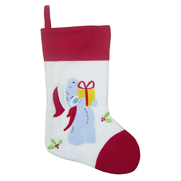 Носок для подарков Winter Wings Me to you, 46х25 смНовогодние носки<br>Характеристики товара:<br><br>• возраст: от 3 лет;<br>• упаковка: пакет;<br>• цвет: белый/красный;<br>• размеры: 46Х25 см.;<br>• состав: полиэстер;<br>• бренд, страна бренда: Winter Wings (Винтер Вингс), Канада;<br>• страна-производитель: Китай.<br><br>Носок для подарков «Me to you» от торговой марки Winter Wings - новогоднее украшение прекрасно подойдет для праздничного декора дома и новогодней ели. А также в качестве оригинальной упаковки для подарка на Новый год, что позволит создать интригу радости и сюрприза для ваших родных и близких.<br><br>Носок для подарков «Me to you» выполнен в форме носочка с изображением мишки Тэдди и изготовлен из плотного и качественного материала, дополнен крючком.<br><br>Компания  Winter Wings  - настоящий эксперт в оригинальных качественных новогодних украшениях, один из самых широких новогодних ассортиментов на российском рынке.<br><br>Носок для подарков «Me to you», 1 шт., 46Х25 см., Winter Wings  можно купить в нашем интернет-магазине.<br>Ширина мм: 460; Глубина мм: 250; Высота мм: 30; Вес г: 2; Возраст от месяцев: 36; Возраст до месяцев: 2147483647; Пол: Унисекс; Возраст: Детский; SKU: 7220687;