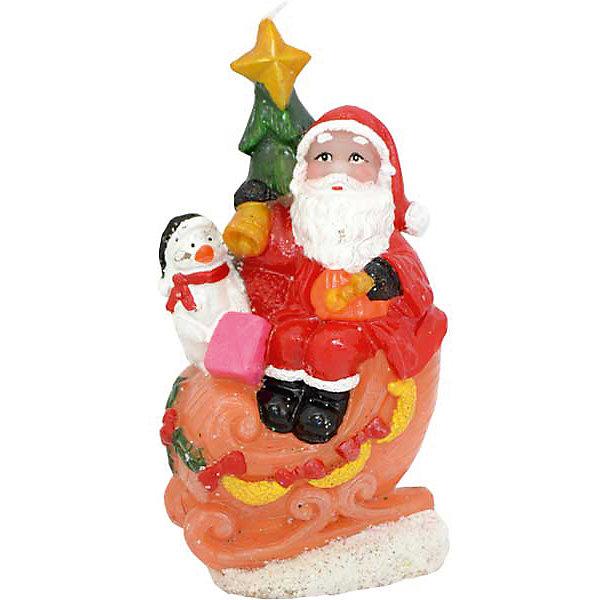 Свеча Winter Wings Дед Мороз на санках, 11 смНовогодние свечи и подсвечники<br>Характеристики товара:<br><br>• возраст: от 3 лет;<br>• упаковка: пакет;<br>• вес: 100 гр.;<br>• количество: 1 шт;<br>• цвет: красный;<br>• форма: фигурная;<br>• размеры свечки: 6,3х11 см.;<br>• состав: парафин;<br>• бренд, страна бренда: Winter Wings (Винтер Вингс), Канада;<br>• страна-производитель: Китай.<br><br>Свеча « ДЕД МОРОЗ НА САНКАХ» от торговой марки Winter Wings - фигурная парафиновая свечка с изображением Деда Мороза на санках, поможет прекрасно украсить интерьер дома и создаст сказочную атмосферу праздника.<br><br>Свеча изготовленна из качественного цветного парафина и упакована в прочный пакет, отлично подойдет в качестве хорошего сувенира для друзей и близких.<br><br>Компания  Winter Wings  - настоящий эксперт в оригинальных качественных новогодних украшениях, один из самых широких новогодних ассортиментов на российском рынке.<br><br>Свечу «ДЕД МОРОЗ НА САНКАХ», 6,3х11 см., Winter Wings  можно купить в нашем интернет-магазине.<br><br>Ширина мм: 63<br>Глубина мм: 110<br>Высота мм: 30<br>Вес г: 69<br>Возраст от месяцев: 36<br>Возраст до месяцев: 2147483647<br>Пол: Унисекс<br>Возраст: Детский<br>SKU: 7220696