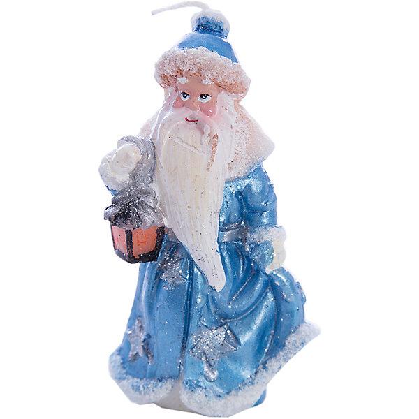 Свеча Winter Wings Дед Мороз, 11,8 смНовинки Новый Год<br>Характеристики товара:<br><br>• возраст: от 3 лет;<br>• упаковка: пакет;<br>• вес: 70 гр.;<br>• количество: 1 шт;<br>• цвет: голубой/белый;<br>• форма: фигурная;<br>• размеры свечки: 4,8х11,8 см.;<br>• состав: парафин;<br>• бренд, страна бренда: Winter Wings (Винтер Вингс), Канада;<br>• страна-производитель: Китай.<br><br>Свеча « ДЕД МОРОЗ С ФОНАРИКОМ» от торговой марки Winter Wings - фигурная парафиновая свечка с изображением Деда Мороза поможет прекрасно украсить интерьер дома и создаст сказочную атмосферу праздника.<br><br>Свеча изготовленна из качественного цветного парафина и упакована в прочный пакет, отлично подойдет в качестве хорошего сувенира для друзей и близких.<br><br>Компания  Winter Wings  - настоящий эксперт в оригинальных качественных новогодних украшениях, один из самых широких новогодних ассортиментов на российском рынке.<br><br>Свечу «ДЕД МОРОЗ  С ФОНАРИКОМ», 4,8х11,8 см., Winter Wings  можно купить в нашем интернет-магазине.<br>Ширина мм: 480; Глубина мм: 118; Высота мм: 30; Вес г: 69; Возраст от месяцев: 36; Возраст до месяцев: 2147483647; Пол: Унисекс; Возраст: Детский; SKU: 7220699;
