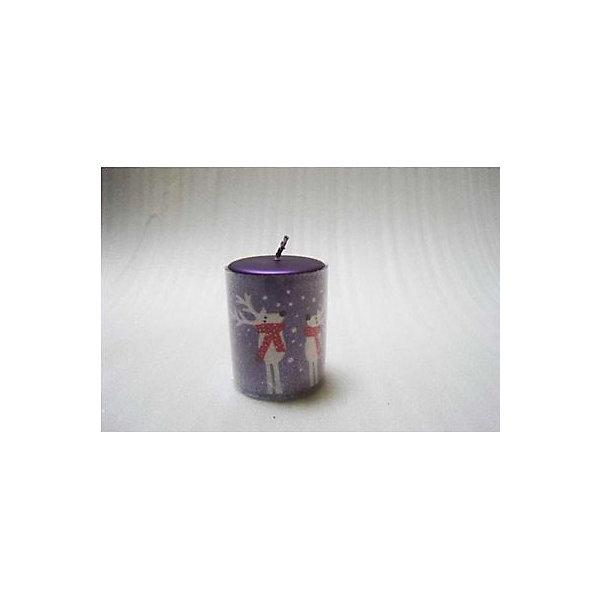 Свеча Winter Wings Олени, 21х7,8х,3,5 смНовогодние свечи и подсвечники<br>Характеристики товара:<br><br>• возраст: от 3 лет;<br>• упаковка: пакет;<br>• вес: 140 гр.;<br>• количество: 1 шт;<br>• цвет: фиолетовый;<br>• форма: цилиндр;<br>• размеры свечки: 21х7,8х3,5 см.;<br>• состав: парафин;<br>• бренд, страна бренда: Winter Wings (Винтер Вингс), Канада;<br>• страна-производитель: Китай.<br><br>Свеча «ОЛЕНИ» от торговой марки Winter Wings - парафиновая свечка в форме цилиндра с изображением новогодних оленей поможет прекрасно украсить интерьер дома и создать сказочную атмосферу праздника.<br><br>Свеча изготовленна из качественного парафина с глянцевым покрытием и упакована в прочный пакет, отлично подойдет в качестве хорошего сувенира для друзей и близких.<br><br>Компания  Winter Wings  - настоящий эксперт в оригинальных качественных новогодних украшениях, один из самых широких новогодних ассортиментов на российском рынке.<br><br>Свечу «ОЛЕНИ», цилиндр, 21х7,8х3,5 см., Winter Wings  можно купить в нашем интернет-магазине.<br>Ширина мм: 210; Глубина мм: 78; Высота мм: 350; Вес г: 143; Возраст от месяцев: 36; Возраст до месяцев: 2147483647; Пол: Унисекс; Возраст: Детский; SKU: 7220708;