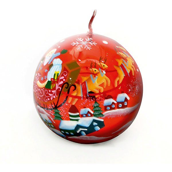 Свеча-шар Winter Wings Дед Мороз, 7,3х7,3 смНовинки Новый Год<br>Характеристики товара:<br><br>• возраст: от 3 лет;<br>• упаковка: пакет;<br>• вес: 210 гр.;<br>• количество: 1 шт;<br>• цвет: красный;<br>• форма: шар;<br>• размеры свечки: 7,3х7,3 см.;<br>• состав: парафин;<br>• бренд, страна бренда: Winter Wings (Винтер Вингс), Канада;<br>• страна-производитель: Китай.<br><br>Свеча «ШАР ДЕД МОРОЗ» от торговой марки Winter Wings - парафиновая свечка в форме шара с изображением Деда Мороза поможет прекрасно украсить интерьер дома и создать сказочную атмосферу праздника.<br><br>Свеча изготовленна из качественного парафина с глянцевым покрытием, красного цвета, и упакована в прочный пакет, отлично подойдет в качестве хорошего сувенира для друзей и близких.<br><br>Компания  Winter Wings  - настоящий эксперт в оригинальных качественных новогодних украшениях, один из самых широких новогодних ассортиментов на российском рынке.<br><br>Свечу «ШАР ДЕД МОРОЗ», 7,3х7,3 см., Winter Wings  можно купить в нашем интернет-магазине.<br><br>Ширина мм: 73<br>Глубина мм: 73<br>Высота мм: 20<br>Вес г: 206<br>Возраст от месяцев: 36<br>Возраст до месяцев: 2147483647<br>Пол: Унисекс<br>Возраст: Детский<br>SKU: 7220711
