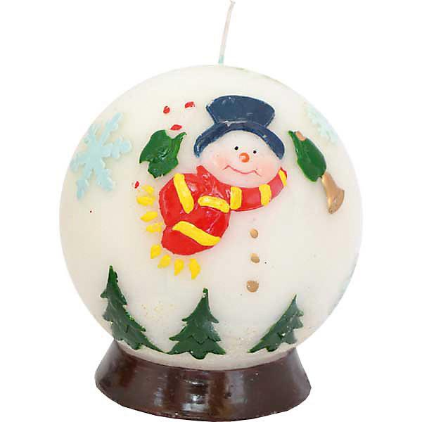 Свеча-шар Winter Wings Новогодние герои, 9,1х10 смНовогодние свечи и подсвечники<br>Характеристики товара:<br><br>• возраст: от 3 лет;<br>• упаковка: пакет;<br>• вес: 210 гр.;<br>• количество: 1 шт;<br>• цвет: белый;<br>• форма: шар;<br>• размеры свечки: 7,3х7,3 см.;<br>• состав: парафин;<br>• бренд, страна бренда: Winter Wings (Винтер Вингс), Канада;<br>• страна-производитель: Китай.<br><br>Свеча «ШАР НОВОГОДНИЕ ГЕРОИ» от торговой марки Winter Wings - парафиновая свечка в форме шара с изображением веселых снеговиков поможет прекрасно украсить интерьер дома и создать сказочную атмосферу праздника.<br><br>Свеча изготовленна из качественного парафина с глянцевым покрытием и упакована в прочный пакет, отлично подойдет в качестве хорошего сувенира для друзей и близких.<br><br>Компания  Winter Wings  - настоящий эксперт в оригинальных качественных новогодних украшениях, один из самых широких новогодних ассортиментов на российском рынке.<br><br>Свечу «ШАР НОВОГОДНИЕ ГЕРОИ», 7,3х7,3 см., Winter Wings  можно купить в нашем интернет-магазине.<br>Ширина мм: 91; Глубина мм: 100; Высота мм: 30; Вес г: 217; Возраст от месяцев: 36; Возраст до месяцев: 2147483647; Пол: Унисекс; Возраст: Детский; SKU: 7220713;