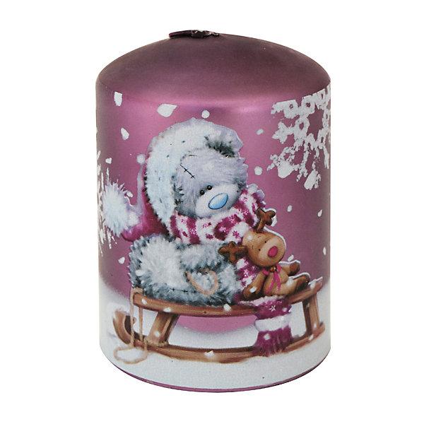 Свеча-столбик Winter Wings Me to you, 7,5х9,5 смНовогодние свечи и подсвечники<br>Характеристики товара:<br><br>• возраст: от 3 лет;<br>• упаковка: пакет;<br>• вес: 400 гр.;<br>• количество: 1 шт;<br>• цвет: сиреневый;<br>• форма: цилиндр;<br>• размеры свечки: 7,5х9,5 см.;<br>• состав: парафин;<br>• бренд, страна бренда: Winter Wings (Винтер Вингс), Канада;<br>• страна-производитель: Китай.<br><br>Свеча-столбик «Мишка Тедди» от торговой марки Winter Wings - парафиновая свечка в форме цилиндра с изображением знаменитого Мишки Тэдди поможет прекрасно украсить интерьер дома и создать сказочную атмосферу праздника. Такая свечка обязательно понравится вашим детям.<br><br>Свеча изготовленна из качественного парафина с глянцевым покрытием и упакована в прочный пакет, отлично подойдет в качестве хорошего сувенира для друзей и близких.<br><br>Компания  Winter Wings  - настоящий эксперт в оригинальных качественных новогодних украшениях, один из самых широких новогодних ассортиментов на российском рынке.<br><br>Свечу-столбик «Мишка Тедди», 7,5х9,5 см., Winter Wings  можно купить в нашем интернет-магазине.<br>Ширина мм: 75; Глубина мм: 75; Высота мм: 95; Вес г: 379; Возраст от месяцев: 36; Возраст до месяцев: 2147483647; Пол: Унисекс; Возраст: Детский; SKU: 7220714;