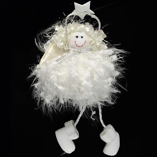 Декоративное украшение Winter Wings Сидящий ангел, 21 смНовогодние сувениры<br>Характеристики товара:<br><br>• возраст: от 3 лет;<br>• упаковка: пакет;<br>• вес: 41 гр.;<br>• количество: 1 шт.;<br>• цвет: белый;<br>• высота: 21 см.;<br>• форма: фигруная;<br>• материал: полимерный материал;<br>• бренд, страна бренда: Winter Wings (Винтер Вингс), Канада;<br>• страна-производитель: Китай.<br><br>Украшение декоративное «СИДЯЩИЙ АНГЕЛ» от торговой марки Winter Wings прекрасно подойдет для праздничного декора новогодней ели. Изделие выполнено из качественного полимерного материала с применением полиэстера . Для удобного размещения на елке на украшении предусмотрена веревочка.<br><br>Елочная игрушка - символ Нового года и Рождества. Она несет в себе волшебство и красоту праздника. Создайте в своем доме атмосферу веселья и радости, украшая новогоднюю елку нарядными игрушками, которые будут из года в год накапливать теплоту воспоминаний. <br><br>Компания  Winter Wings  - настоящий эксперт в оригинальных качественных новогодних украшениях, один из самых широких новогодних ассортиментов на российском рынке.<br><br>Украшение декоративное «СИДЯЩИЙ АНГЕЛ», 1 шт, высота 21 см., Winter Wings  можно купить в нашем интернет-магазине.<br>Ширина мм: 210; Глубина мм: 100; Высота мм: 40; Вес г: 41; Возраст от месяцев: 36; Возраст до месяцев: 2147483647; Пол: Унисекс; Возраст: Детский; SKU: 7220720;