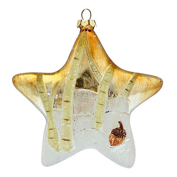 Украшение на елку Winter Wings Звезда, 12 смЁлочные игрушки<br>Характеристики товара:<br><br>• возраст: от 3 лет;<br>• упаковка: пакет;<br>• вес: 47 гр.;<br>• количество: 1 шт.;<br>• цвет: золотой;<br>• высота: 12 см.;<br>• форма: фигруная;<br>• материал: пластик;<br>• бренд, страна бренда: Winter Wings (Винтер Вингс), Канада;<br>• страна-производитель: Китай.<br><br>Украшение елочное «ЗВЕЗДА» от торговой марки Winter Wings прекрасно подойдет для праздничного декора новогодней ели. Изделие выполнено из цветного качественного пластика . Для удобного размещения на елке на украшении предусмотрена петелька.<br><br>Елочная игрушка - символ Нового года и Рождества. Она несет в себе волшебство и красоту праздника. Создайте в своем доме атмосферу веселья и радости, украшая новогоднюю елку нарядными игрушками, которые будут из года в год накапливать теплоту воспоминаний. <br><br>Компания  Winter Wings  - настоящий эксперт в оригинальных качественных новогодних украшениях, один из самых широких новогодних ассортиментов на российском рынке.<br><br>Украшение елочное «ЗВЕЗДА», 1 шт, высота 12 см., Winter Wings  можно купить в нашем интернет-магазине.<br>Ширина мм: 120; Глубина мм: 120; Высота мм: 30; Вес г: 41; Возраст от месяцев: 36; Возраст до месяцев: 2147483647; Пол: Унисекс; Возраст: Детский; SKU: 7220730;
