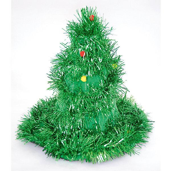 Карнавальная шляпа Winter Wings Елка, 31 смВсё для новогоднего карнавала<br>Характеристики товара:<br><br>• возраст: от 3 лет;<br>• упаковка: пакет;<br>• количество: 1 шт.;<br>• цвет: зеленый;<br>• высота: 31 см.;<br>• материал: 100% полиэстер;<br>• бренд, страна бренда: Winter Wings (Винтер Вингс), Канада;<br>• страна-производитель: Китай.<br><br>Карнавальная шляпа-елка от торговой марки Winter Wings отлично впишется в празднование новогодних праздников.  Поможет создат незабываемый веселый колорит всей компании друзей и близких. <br><br>Карнавальная шапка выполненна с применением новогодней мишуры зеленого цвета. Не имеет полового признака и конкретного размера.<br><br>Компания  Winter Wings  - настоящий эксперт в оригинальных качественных новогодних украшениях, один из самых широких новогодних ассортиментов на российском рынке.<br><br>Карнавальную шляпу-елку, 1 шт, зеленая, 31 см., Winter Wings  можно купить в нашем интернет-магазине.<br>Ширина мм: 310; Глубина мм: 400; Высота мм: 400; Вес г: 156; Возраст от месяцев: 36; Возраст до месяцев: 2147483647; Пол: Унисекс; Возраст: Детский; SKU: 7220736;