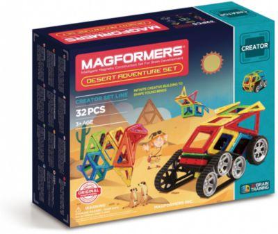Magformers Магнитный Конструктор Magformers Adventure Desert 32 Set