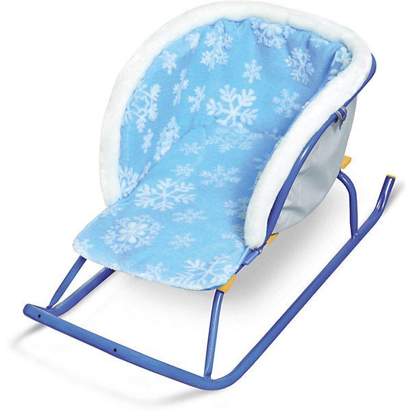 Сиденье для санок Nika-Kids Снежинки,  меховое (голубое)Санки и снегокаты<br>Характеристики товара:<br><br>• возраст: от 3 лет;                                                                                                                                                                                                   • пол: для девочек и мальчиков;<br>• цвет: голубой;<br>• принт: снежинки;<br>• сиденье: мягкое;<br>• материал верха и низа: ткань с водоотталкивающей пропиткой;<br>• внутренний утеплитель: поролон;<br>• страна обладатель бренда: Россия.<br><br>Сиденье достаточно просторное, поэтому не будет сковывать и мешать движениям ребенка в зимней одежде.<br><br>Цвет сидения яркий. Имеется удобный подлокотник.<br><br>Сиденье надежно крепиться и хорошо прилегает к любой модели санок.<br><br>Материал приятен на ощупь, не продувается и не промокает. В случае загрязнения изделие хорошо стирается.<br><br>Сиденье без чехла для ног можно купить в нашем интернет-магазине.<br><br>Ширина мм: 490<br>Глубина мм: 230<br>Высота мм: 300<br>Вес г: 370<br>Возраст от месяцев: 12<br>Возраст до месяцев: 60<br>Пол: Мужской<br>Возраст: Детский<br>SKU: 7221223