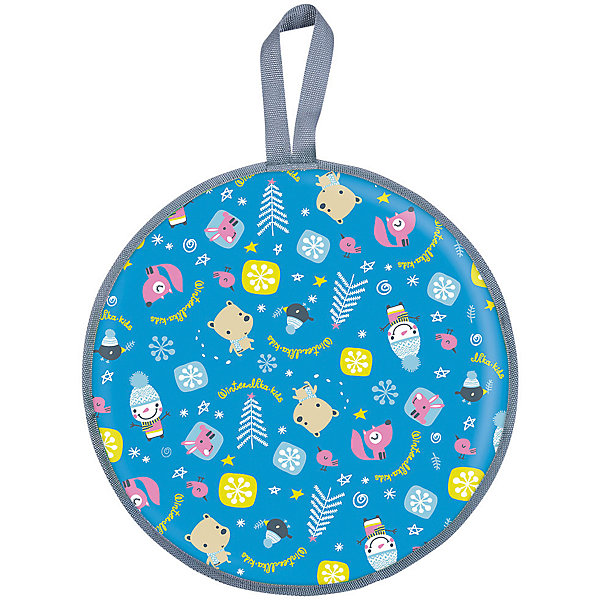 Ледянка Nika-Kids Зима (голубая), 45 смЛедянки<br>Характеристики товара:<br><br>• возраст: от 3 лет;                                                                                                                                                                                                   • пол: для девочек и мальчиков;<br>• форма: круглая;<br>• материал: верх ткань с водоотталкивающей пропиткой, низ автотент;<br>• сиденье: мягкое из порилекса;<br>• ручка: гибкая; <br>• цвет: голубой;<br>• диаметр: 45 см;<br>• cтрана обладатель бренда: Россия.<br><br>Одноместная мягкая ледянка, очень легкая и прочная.<br><br>Ледянка выполнена из плотной водоотталкивающей ткани с оригинальным детским рисунком. Сиденье ледянки мягкое.<br><br>Предназначена для комфортного, безопасного, скоростного спуска с ледяных горок. Малый вес изделия позволяет детям с легкостью заносить ее в горку. На ней могут кататься как маленькие дети так и взрослые.<br><br>Ледянку с голубым принтом можно купить в нашем интернет-магазине.<br>Ширина мм: 465; Глубина мм: 100; Высота мм: 465; Вес г: 200; Возраст от месяцев: 36; Возраст до месяцев: 84; Пол: Унисекс; Возраст: Детский; SKU: 7221239;