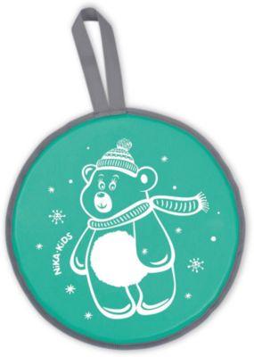 Ника Ледянка ЛР40 (диам.400мм) Мишка зелен