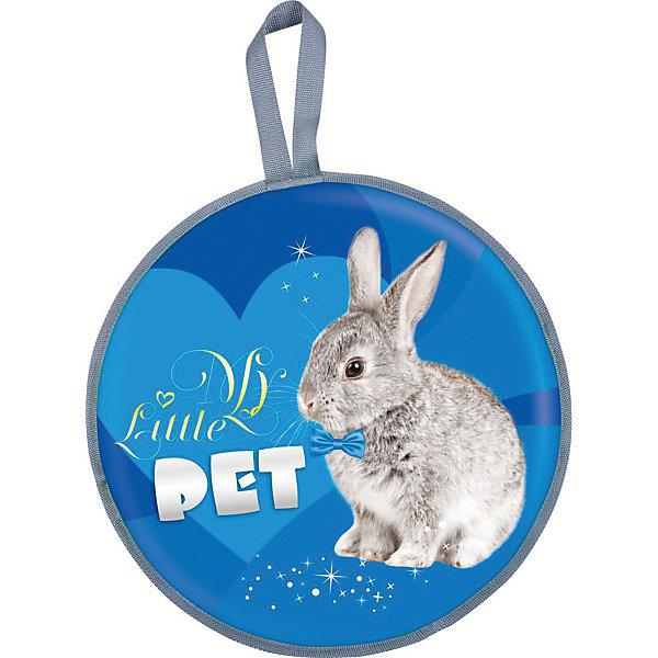 Ледянка Nika-Kids Кролик, 45 смЛедянки<br>Характеристики товара:<br><br>• возраст: от 3 лет;                                                                                                                                                                                                   • пол: для девочек и мальчиков;<br>• форма: круглая;<br>• материал: текстиль, автотент, поролон;<br>• сиденье: мягкое из поролона;<br>• цвет: синий;<br>• принт: кролик;<br>• диаметр: 45 см;<br>• cтрана обладатель бренда: Россия.<br><br>Мягкая ледянка состоит из прочного автотента. Ее особенностью является наличие текстильного покрытия и поролонового наполнителя внутри, что обеспечивает термозащиту и полный комфорт при катании. <br><br>Кроме того, ледянка оснащена специальной ручкой, за которую можно будет держаться во время езды или повесить ее на крючок. <br><br>Ледянка оформлена изображением симпатичного кролика. Изделие прослужит долгое время.<br><br>Ледянку можно купить в нашем интернет-магазине.<br><br>Ширина мм: 525<br>Глубина мм: 500<br>Высота мм: 40<br>Вес г: 9999<br>Возраст от месяцев: 36<br>Возраст до месяцев: 84<br>Пол: Унисекс<br>Возраст: Детский<br>SKU: 7221244