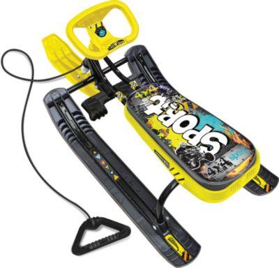 Ника Снегокат Nika-Kids Тимка Спорт 1 , (граффити, желтый)