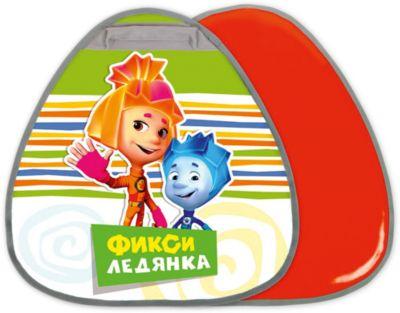 Ника Ледянка Nika-Kids Фиксики грушевидная, 52,5х50 см (зеленый) фото-1