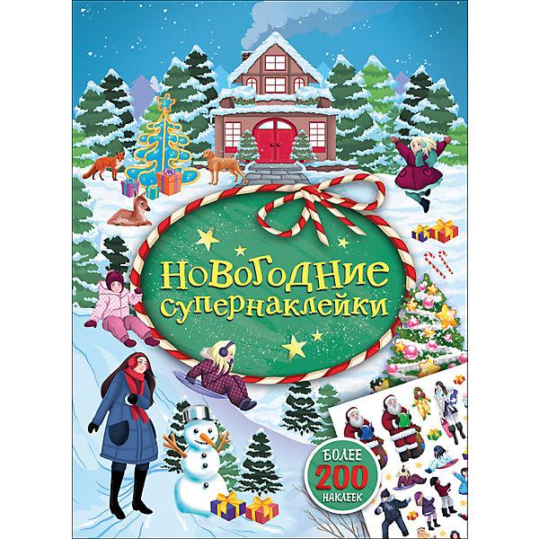 Новогодние супернаклейки (зеленая)Книжки с наклейками<br>В этой книге собрана чудесная коллекция новогодних наклеек! На каждом развороте маленьких читателей ждет картинка с новогодним сюжетом, которую можно дополнить и украсить наклейками.<br>Ширина мм: 285; Глубина мм: 212; Высота мм: 2; Вес г: 108; Возраст от месяцев: 36; Возраст до месяцев: 2147483647; Пол: Унисекс; Возраст: Детский; SKU: 7221368;