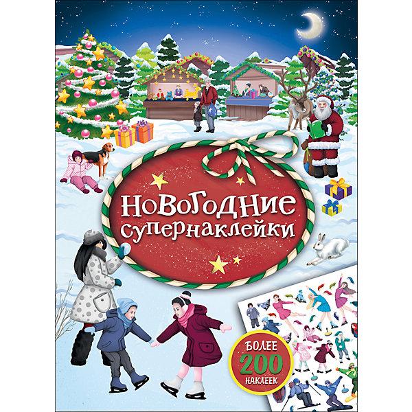 Новогодние супернаклейки (красная)Книжки с наклейками<br>В этой книге собрана чудесная коллекция новогодних наклеек! На каждом развороте маленьких читателей ждет картинка с новогодним сюжетом, которую можно дополнить и украсить наклейками.<br><br>Ширина мм: 285<br>Глубина мм: 212<br>Высота мм: 2<br>Вес г: 108<br>Возраст от месяцев: 36<br>Возраст до месяцев: 2147483647<br>Пол: Унисекс<br>Возраст: Детский<br>SKU: 7221369