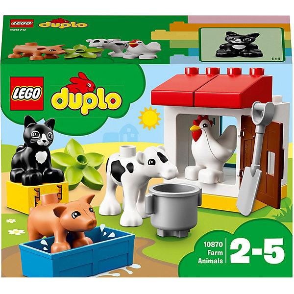 Конструктор LEGO DUPLO 10870: Ферма: домашние животныеLEGO<br>Конструктор LEGO DUPLO 10870: Ферма: домашние животные<br>Ширина мм: 191; Глубина мм: 142; Высота мм: 93; Вес г: 220; Возраст от месяцев: 24; Возраст до месяцев: 60; Пол: Унисекс; Возраст: Детский; SKU: 7221445;