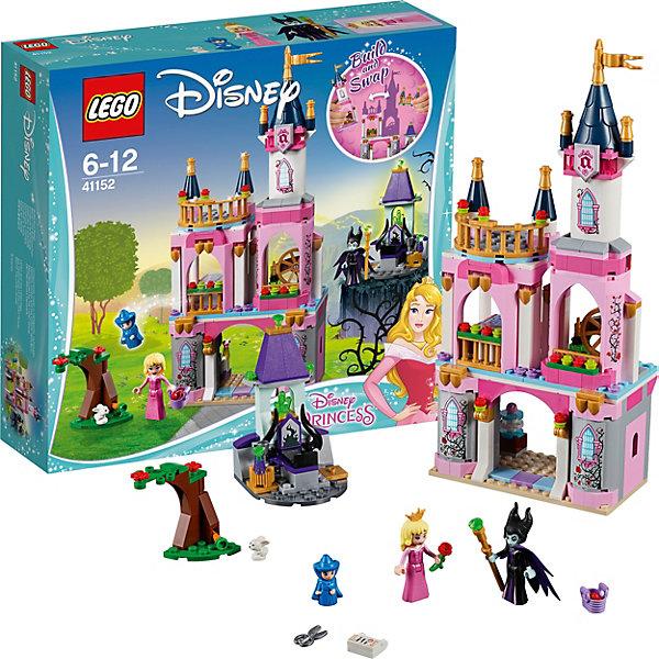 Конструктор LEGO Princess 41152: Сказочный замок Спящей КрасавицыLEGO Disney Princesses<br>Характеристики товара:<br><br>• возраст: от 6 лет;<br>• серия LEGO: Disney Princess;<br>• материал: пластик;<br>• количество деталей: 322 шт.;<br>• в наборе: замок Авроры, трон Малифисенты, вишневое дерево, аксессуары;<br>• количество минифигурок: 4;<br>• размер замка: 29х12х6 см;<br>• размер упаковки: 26х28х7 см;<br>• вес упаковки: 578 гр.;<br>• страна бренда: Дания.<br><br>С конструктором LEGO Disney Princess: «Сказочный замок Спящей Красавицы» легко воссоздать моменты из любимого мультфильма про принцессу и злую колдунью.<br><br>В распоряжении ребенка окажутся 4 фигурки – Аврора, Малифисента, крестная фея и зайчик. Роскошный замок принцессы и обитель колдуньи помогут создать множество игровых сюжетов. Внутри замка есть все знаковые атрибуты из сказки: прядильное колесо, торт на день рождения, кровать Авроры и другие.<br><br>Элементы конструктора высоко детализированы, выполнены из безопасного прочного пластика.<br><br>Особенности и функционал:<br><br>• вращающееся колесо;<br>• подходит для использования с другими наборами серии LEGO Disney Princess.<br><br>Конструктор LEGO Disney Princess 41152: «Сказочный замок Спящей Красавицы» можно купить в нашем интернет-магазине.<br>Ширина мм: 281; Глубина мм: 266; Высота мм: 78; Вес г: 576; Возраст от месяцев: 72; Возраст до месяцев: 144; Пол: Женский; Возраст: Детский; SKU: 7221486;