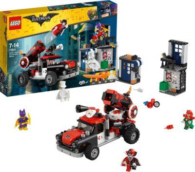 Конструктор LEGO Batman Movie 70921: Тяжёлая артиллерия Харли Квинн, артикул:7221533 - Бэтмен