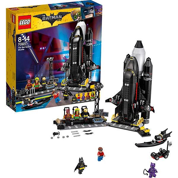 Конструктор LEGO Batman Movie 70923: Космический шаттл БэтменаБэтмен<br>Конструктор LEGO Batman Movie 70923: Космический шаттл Бэтмена<br><br>Ширина мм: 380<br>Глубина мм: 353<br>Высота мм: 98<br>Вес г: 1247<br>Возраст от месяцев: 96<br>Возраст до месяцев: 168<br>Пол: Мужской<br>Возраст: Детский<br>SKU: 7221534