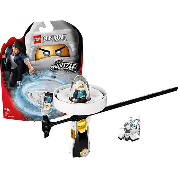 Фигурка с пусковым устройством LEGO Ninjago 70636: Зейн — Мастер КружитцуLEGO NINJAGO<br>Характеристики товара:<br><br>• возраст: от 6 лет;<br>• серия LEGO: Ninjago;<br>• материал: пластик;<br>• количество деталей: 69 шт.;<br>• количество минифигурок: 1;<br>• в наборе: спиннер, сюрикэны на подставке, сюрикэны, стержень;<br>• размер спиннера: 14х8х3 см;<br>• размер упаковки: 25х22х6 см;<br>• вес упаковки: 164 гр.;<br>• страна бренда: Дания.<br><br>Из деталей конструктора LEGO Ninjago: «Зейн — Мастер Кружитцу» получается необычная игрушка с пусковым устройством, которое удобно брать с собой и устраивать игры с друзьями.<br><br>Фигурка помещается в отсек для полета, ребенок берется за рукоять и стержень, и начинается игра. Играть фигуркой можно и на земле, а главным оружием Зейна будут ледяные сюрикэны.<br><br>Особенности и функционал:<br><br>• для запуска спиннера нужно вставить стержень в специальное отверстие и резко потянуть его, таким образом капсула с фигуркой отсоединится от рукояти и полетит вперед;<br>• подходит для использования с другими наборами серии LEGO Ninjago.<br><br>Фигурку с пусковым устройством LEGO Ninjago 70636: «Зейн — Мастер Кружитцу» можно купить в нашем интернет-магазине.<br>Ширина мм: 258; Глубина мм: 226; Высота мм: 68; Вес г: 160; Возраст от месяцев: 72; Возраст до месяцев: 168; Пол: Мужской; Возраст: Детский; SKU: 7221542;