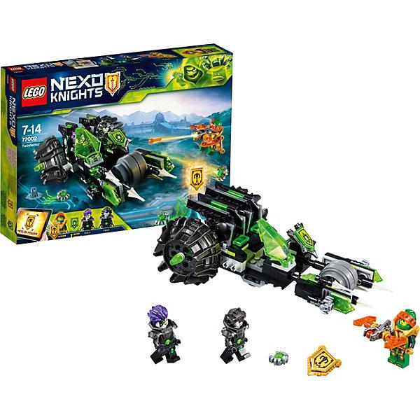 Конструктор LEGO Nexo Knights 72002: Боевая машина близнецовLEGO NEXO KNIGHTS<br>Характеристики товара:<br><br>• возраст: от 7 лет;<br>• серия LEGO: Nexo Knights;<br>• материал: пластик;<br>• количество деталей: 191 шт.;<br>• в наборе: боевая машина близнецов, арбалет, щит, вирус;<br>• количество минифигурок: 3;<br>• размер машины: 7х20х6 см;<br>• размер упаковки: 19х26х4 см;<br>• вес упаковки: 286 гр.;<br>• страна изготовитель: Дания.<br><br>Конструктор LEGO Nexo Knights: «Боевая машина близнецов» представляет сцену сражения Аарона против братьев Фреда и Пола, которые решили атаковать Найтонию вирусами с помощью своей опасной машины.  <br><br>Набор открывает простор для фантазии ребенка. Элементы конструктора детализированы, выполнены в ярких цветах из безопасного и прочного пластика.<br><br>Особенности и функционал:<br><br>• машина делится на две части для каждого близнеца, есть кабины пилотов;<br>• имеются 2 щита NEXO-сил: «Гамма лучи», «Лук Мерлока»;<br>• подходит для использования с другими наборами серии LEGO Nexo Knights.<br><br>Конструктор LEGO Nexo Knights 72002: «Боевая машина близнецов» можно купить в нашем интернет-магазине.<br>Ширина мм: 266; Глубина мм: 188; Высота мм: 52; Вес г: 274; Возраст от месяцев: 84; Возраст до месяцев: 168; Пол: Мужской; Возраст: Детский; SKU: 7221551;