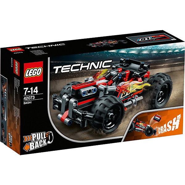 Конструктор LEGO Technic 42073: Красный гоночный автомобильLEGO<br>Характеристики товара:<br><br>• возраст: от 7 лет;<br>• серия LEGO: Technic;<br>• материал: пластик;<br>• количество деталей: 139 шт.;<br>• размер машины: 7х17х9 см;<br>• размер упаковки: 14х26х7 см;<br>• вес упаковки: 297 гр.;<br>• страна бренда: Дания.<br><br>Из деталей конструктора LEGO Technic: «Красный гоночный автомобиль» можно собрать супербыстрый кар с невероятной проходимостью для гонок или краш-тестов. Машина усилена бампером, задний спойлер рассекает ветер и придает авто ускорения.<br><br>Автомобиль обладает крупными подвижными колесами, детализированными элементами и окрашен в насыщенные цвета. Набор выполнен из качественного безопасного пластика.<br><br>Особенности и функционал:<br><br>• инерционный механизм;<br>• подпружинный двигатель выстреливает из кузова автомобиля при ударе;<br>• имеется место для минифигурки;<br>• подходит для использования с другими наборами серии LEGO Technic.<br><br>Конструктор LEGO Technic 42073: «Красный гоночный автомобиль» можно купить в нашем интернет-магазине.<br>Ширина мм: 266; Глубина мм: 147; Высота мм: 78; Вес г: 298; Возраст от месяцев: 84; Возраст до месяцев: 168; Пол: Мужской; Возраст: Детский; SKU: 7221591;