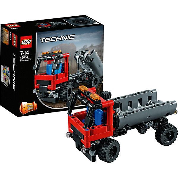 Конструктор LEGO Technic 42084: ПогрузчикLEGO<br>Характеристики товара:<br><br>• возраст: от 7 лет;<br>• серия LEGO: Technic;<br>• материал: пластик;<br>• количество деталей: 176 шт.;<br>• размер погрузчика: 8х14х7 см;<br>• размер пожарной машины: 8х16х7 см;<br>• размер упаковки: 14х15х7 см;<br>• вес упаковки: 260 гр.;<br>• страна бренда: Дания.<br><br>Из деталей конструктора LEGO Technic: «Погрузчик» можно собрать функциональный самосвал. Из модели с кузовом техника может трансформироваться в пожарную машину для аэропорта. Элементы набора надежно скрепляются между собой. Конструктор выполнен из качественного безопасного пластика.<br><br>Особенности и функционал:<br><br>• конструктор 2 в 1: погрузчик/пожарная машина;<br>• съемный кузов;<br>• положение и съем/погрузка кузова регулируется боковым маховиком;<br>• над кабиной водителя механизм управления передними колесами.<br><br>Конструктор LEGO Technic 42084: «Погрузчик» можно купить в нашем интернет-магазине.<br>Ширина мм: 162; Глубина мм: 147; Высота мм: 76; Вес г: 265; Возраст от месяцев: 84; Возраст до месяцев: 168; Пол: Мужской; Возраст: Детский; SKU: 7221592;