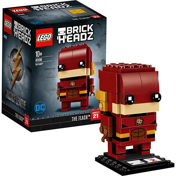 Сборная фигурка LEGO BrickHeadz 41598: ФлэшLEGO<br>Характеристики товара:<br><br>• возраст: от 10 лет;<br>• серия LEGO: BrickHeadz;<br>• материал: пластик;<br>• количество деталей: 122 шт.;<br>• в наборе: детали, опорная плита 4х4х1 см;<br>• высота фигурки: 7 см;<br>• размер упаковки: 12х9х7 см;<br>• вес упаковки: 123 гр.;<br>• страна бренда: Дания.<br><br>Сборная фигурка LEGO BrickHeadz 41598: «Флэш» изображает одноименного персонажа из фильма «Лига справедливости». Красочные детали воссоздают отличительные особенности героя, включая костюм, маску с золотыми крыльями на ушах и значок с молнией.<br><br>С фигуркой интересно играть, придумывать разнообразные сюжеты. Также игрушка может стать частью коллекции и располагаться на пьедестале. Набор выполнен из качественного безопасного пластика.<br><br>Особенности и функционал:<br><br>• высокая детализация элементов;<br>• входит в коллекцию фигурок LEGO BrickHeadz по мотивам фильма о супергероях «Лига справедливости».<br><br>Сборную фигурку LEGO BrickHeadz 41598: «Флэш» можно купить в нашем интернет-магазине.<br>Ширина мм: 122; Глубина мм: 96; Высота мм: 81; Вес г: 122; Возраст от месяцев: 120; Возраст до месяцев: 192; Пол: Мужской; Возраст: Детский; SKU: 7221607;