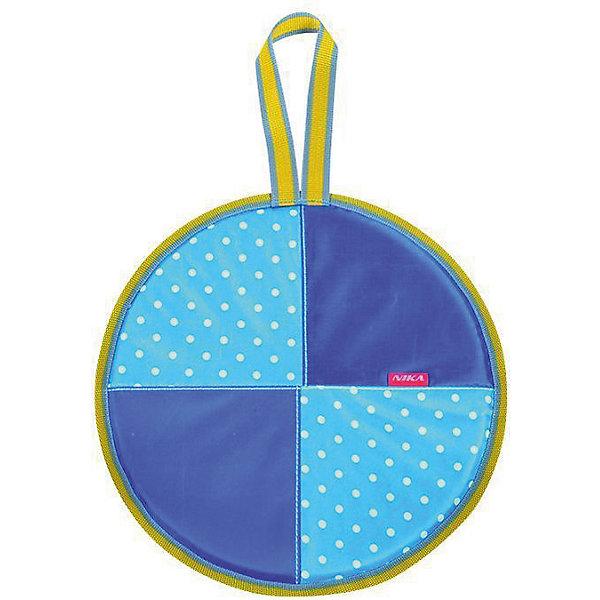 Ледянка Nika-Kids Голубой горошек, 40 смЛедянки<br>Характеристики товара:<br><br>• возраст: от 3 лет;                                                                                                                                                                                                   • пол: для девочек и мальчиков;<br>• форма: круглая;<br>• материал: текстиль, автотент, поролон;<br>• сиденье: мягкое из поролона;<br>• принт: голубой горошек;<br>• диаметр: 40 см;<br>• cтрана обладатель бренда: Россия.<br><br>Мягкая ледянка состоит из прочного автотента. Ее особенностью является наличие текстильного покрытия и поролонового наполнителя внутри, что обеспечивает термозащиту и полный комфорт при катании. <br><br>Кроме того, ледянка оснащена специальной ручкой, за которую можно будет держаться во время езды или повесить ее на крючок. <br><br>Ледянку можно купить в нашем интернет-магазине.<br>Ширина мм: 350; Глубина мм: 350; Высота мм: 160; Вес г: 200; Возраст от месяцев: 36; Возраст до месяцев: 84; Пол: Унисекс; Возраст: Детский; SKU: 7221836;