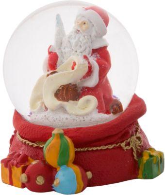 Снежный шар Magic Time Дед Мороз со списком