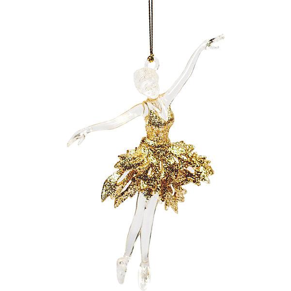 Украшение на елку Magic Time Балерина в золотом, 15,2 смНовинки Новый Год<br>Новогоднее  подвесное елочное украшение Балерина в золотом из  полистирола / 15,2 арт.75966<br><br>Ширина мм: 10<br>Глубина мм: 150<br>Высота мм: 150<br>Вес г: 34<br>Возраст от месяцев: 24<br>Возраст до месяцев: 2147483647<br>Пол: Унисекс<br>Возраст: Детский<br>SKU: 7223815