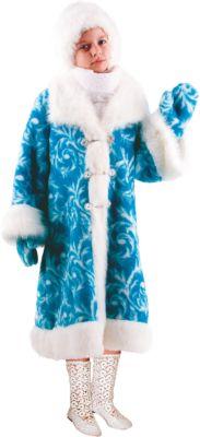 Карнавальный костюм Снегурочка Батик для девочки