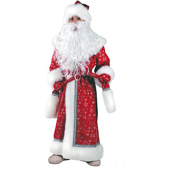 Карнавальный костюм Дед Мороз Батик для мальчикаКарнавальные костюмы для мальчиков<br>Карнавальный костюм Дед Мороз Батик для мальчика<br>Карнавальный костюм (шуба, шапка, пояс, варежки, борода)<br>Состав:<br>Полиэстр 100%<br><br>Ширина мм: 450<br>Глубина мм: 80<br>Высота мм: 350<br>Вес г: 250<br>Возраст от месяцев: 84<br>Возраст до месяцев: 96<br>Пол: Мужской<br>Возраст: Детский<br>Размер: 122/128<br>SKU: 7224429