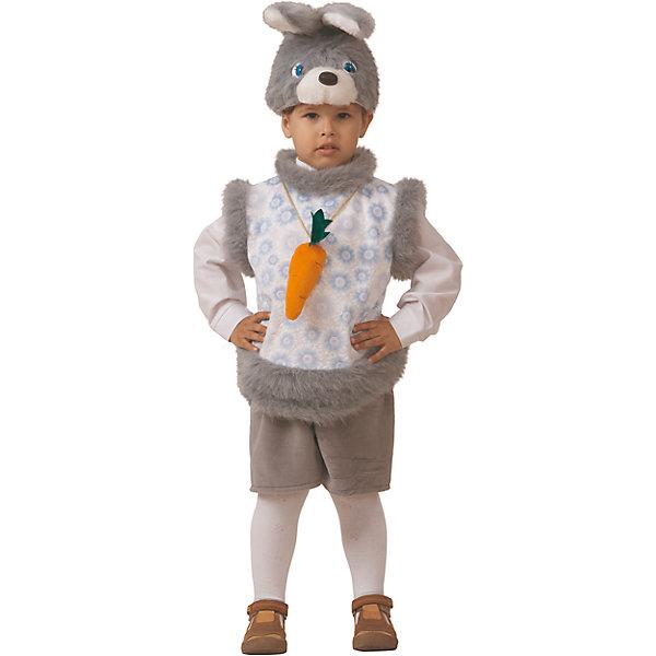 Карнавальный костюм Кролик Кроха Батик для мальчикаКарнавальные костюмы для мальчиков<br>Карнавальный костюм Кролик Кроха Батик для мальчика<br>Карнавальный костюм (маска, безрукавка, шорты) <br>Состав:<br>Полиэстр 100%<br>Ширина мм: 450; Глубина мм: 80; Высота мм: 350; Вес г: 250; Возраст от месяцев: 48; Возраст до месяцев: 60; Пол: Мужской; Возраст: Детский; Размер: 110; SKU: 7224436;