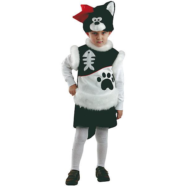 Карнавальный костюм Кот Пират Батик для мальчикаНовинки для праздника<br>Карнавальный костюм Кот Пират Батик для мальчика<br>Карнавальный костюм (маска, безрукавка, шорты) <br>Состав:<br>Полиэстр 100%<br><br>Ширина мм: 450<br>Глубина мм: 80<br>Высота мм: 350<br>Вес г: 250<br>Возраст от месяцев: 48<br>Возраст до месяцев: 60<br>Пол: Мужской<br>Возраст: Детский<br>Размер: 110<br>SKU: 7224444