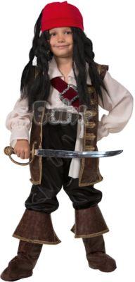 Карнавальный костюм Капитан Джек Воробей Батик для мальчика