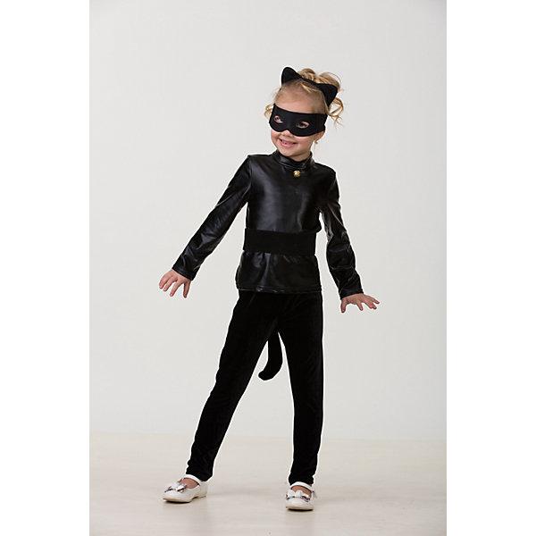Карнавальный костюм Супер Кот БатикКарнавальные костюмы для девочек<br>Карнавальный костюм Супер Кот Батик <br>Карнавальный костюм (водолазка, легинсы, пояс, маска, ушки кота)<br>Состав:<br>Полиэстр 100%<br><br>Ширина мм: 450<br>Глубина мм: 80<br>Высота мм: 350<br>Вес г: 250<br>Возраст от месяцев: 48<br>Возраст до месяцев: 60<br>Пол: Унисекс<br>Возраст: Детский<br>Размер: 110,116<br>SKU: 7224476