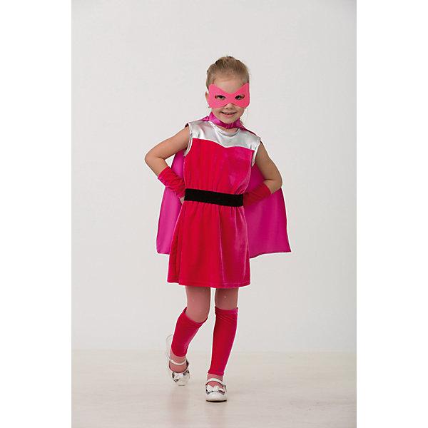 Карнавальный костюм Супер Блёстка Батик для девочкиКарнавальные костюмы для девочек<br>Карнавальный костюм Супер Блёстка Батик для девочки<br>Карнавальный костюм (платье, плащ, манжеты для рук, гольфы, пояс, маска)<br>Состав:<br>Полиэстр 100%<br>Ширина мм: 450; Глубина мм: 80; Высота мм: 350; Вес г: 250; Возраст от месяцев: 48; Возраст до месяцев: 60; Пол: Женский; Возраст: Детский; Размер: 110,116; SKU: 7224479;