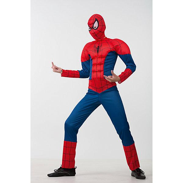 Карнавальный костюм Человек Паук Батик для мальчикаНовинки для праздника<br>Карнавальный костюм Человек Паук Батик для мальчика<br>Карнавальный костюм (комбинезон, маска)<br>Состав:<br>Полиэстр 100%<br><br>Ширина мм: 450<br>Глубина мм: 80<br>Высота мм: 350<br>Вес г: 250<br>Возраст от месяцев: 48<br>Возраст до месяцев: 60<br>Пол: Мужской<br>Возраст: Детский<br>Размер: 110,128,122,116<br>SKU: 7224485